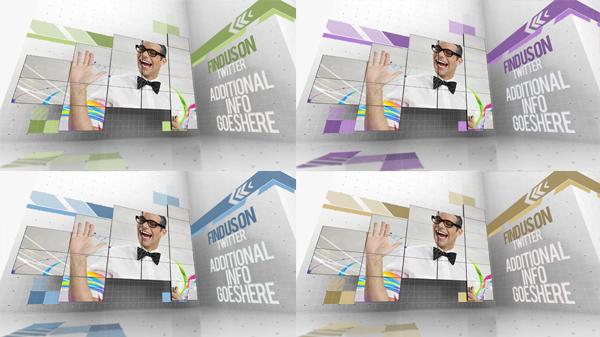 电视墙效果模板演示