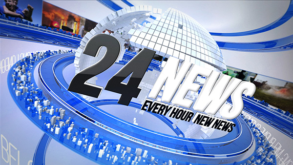 24 Broadcast News Complete TV Package (News) After Effects