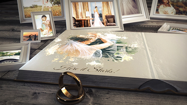 wedding book special events after effects templates f5 design com